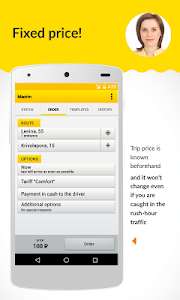 screenshot of Maxim: taxi order version 3.0.1