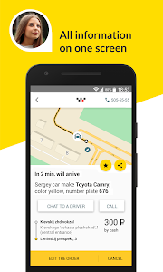 screenshot of Maxim: order a taxi version Varies with device