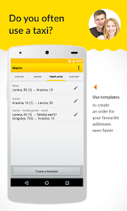 screenshot of Maxim: taxi order version 2.9.8