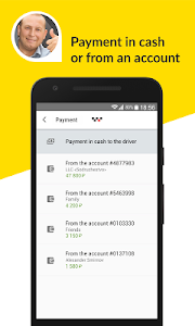 screenshot of Maxim: taxi order version 3.0.1.3