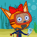 Kid-E-Cats Sea Adventure! Cat Games for Kids