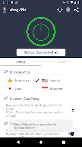 screenshot of Wang VPN ❤️- Free Fast Stable Best VPN Just try it version 2.2.5