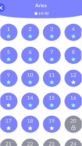screenshot of One Line - One Line puzzle game version 1.5