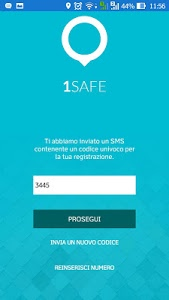 screenshot of 1SAFE version 7.2