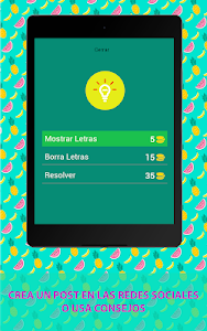 screenshot of ? 250+ GUESS FRUITS AND VEGETABLES ON SPANISH version 3.5.8z