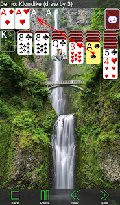 screenshot of 250+ Solitaire Collection version 4.12.0