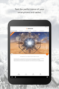 screenshot of 3DMark - The Gamer's Benchmark version Varies with device