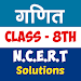 8th class maths solution in hindi