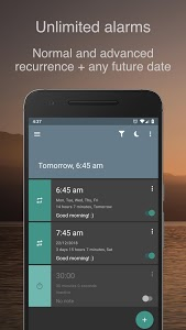 screenshot of Alarm Clock for Heavy Sleepers — Smart Math & Free version 4.4.1