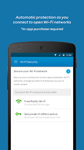 screenshot of AT&T Mobile Security version 3.2.23-3530340