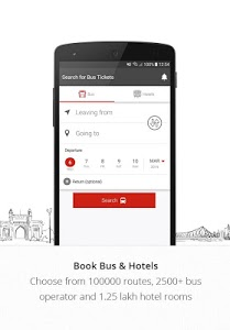 screenshot of AbhiBus - Online Bus Ticket Booking, Hotel Booking version 3.3.4