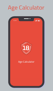 screenshot of Age Calculator version 1.0