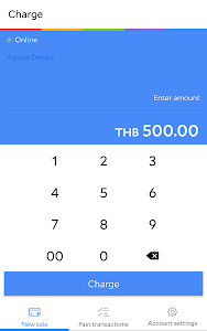 screenshot of Agoda Pay for Business version 1.9.0