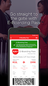 screenshot of AirAsia version 5.0.10