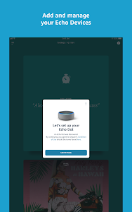 screenshot of Amazon Alexa version 2.2.327278.0