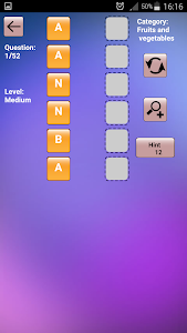 screenshot of Anagram - Word Game version 5