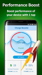 screenshot of Android Booster version 1.28
