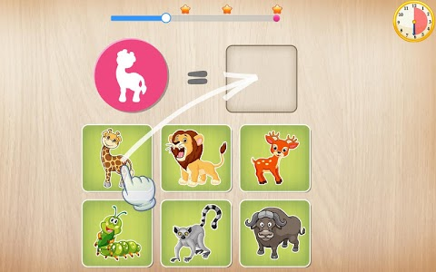 screenshot of Animals Puzzle for Kids 🦁🐰🐬🐮🐶🐵 version 3.0.0