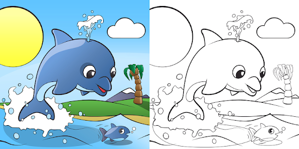screenshot of Coloring your Animals version 1.0.0