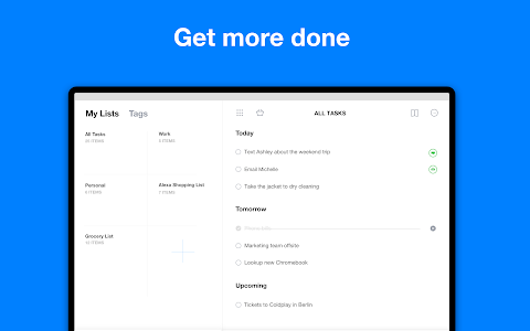 screenshot of Any.do: To do list, Calendar, Reminders & Planner version 4.15.3.4