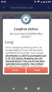 screenshot of Article Spinner and Rewrite version 2.1.7