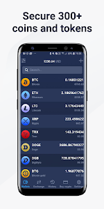 screenshot of Atomic Wallet: Bitcoin Ethereum Ripple & Altcoins version 0.38.5