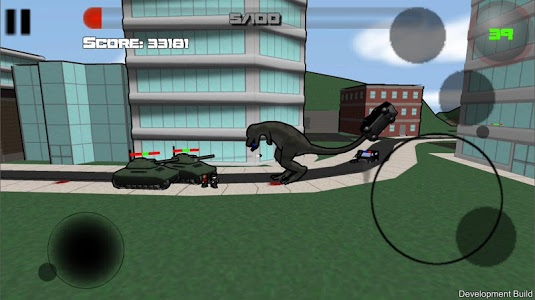 screenshot of Attack of the Giant Mutant Lizard version 0.7.2
