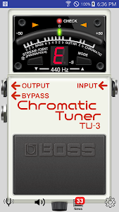 screenshot of BOSS Tuner version 1.1.0