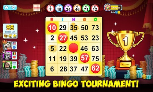 screenshot of Bingo Holiday: Free Bingo Games version 1.9.13