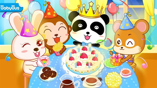 screenshot of Baby Panda's Birthday Party version 8.33.00.00
