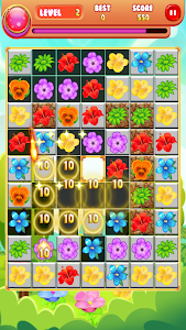 screenshot of Blossom Fever: Match 3 version 1.0.7