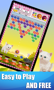 screenshot of Bubble Shooter Jungle Cat version 1.1