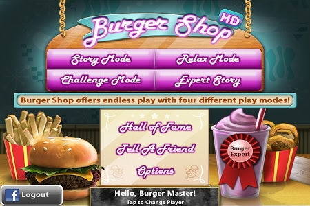 screenshot of Burger Shop - Free Cooking Game version 1.5.1