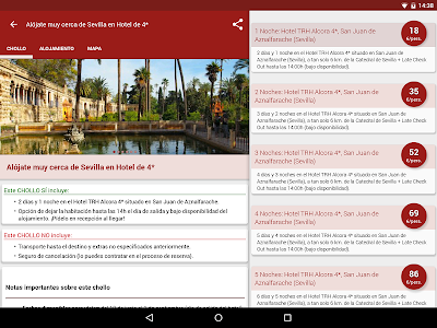 screenshot of BuscoUnChollo - Viajes Hoteles version 4.0.2
