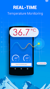 screenshot of Cooling Master-Phone Cooler version Varies with device