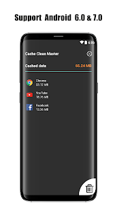 screenshot of Cache Cleaner Super clear cache & optimize version 1.20