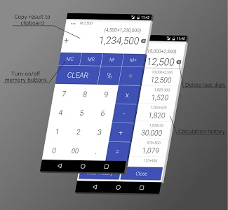 screenshot of Calculator version 1.10.9