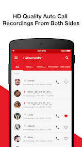 screenshot of Call Recorder - Automatic Call Recorder version 1.7.6