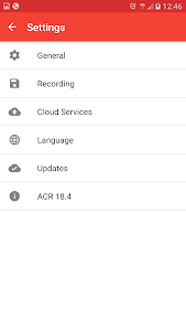 screenshot of Call Recorder - ACR version Varies with device