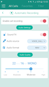 screenshot of Call Recorder S9 - Automatic Call Recorder Pro version 8.8