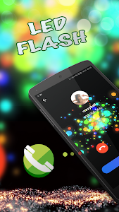 screenshot of Call screen theme show - colorful thems version 1.0.6
