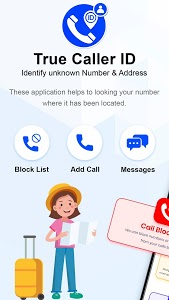 screenshot of Caller ID Name, Number And Location Tracker version 1.7