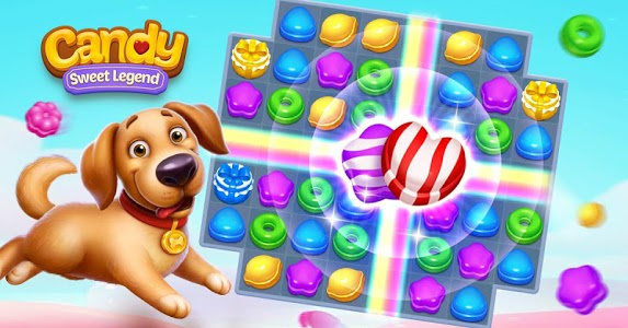 screenshot of Candy Sweet Legend - Match 3 Puzzle version 1.7.3980