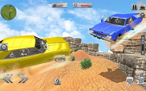 screenshot of Car Crash Simulator & Beam Crash Stunt Racing version 1.1