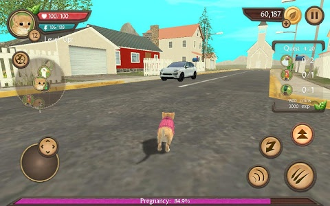 screenshot of Cat Sim Online: Play with Cats version 4.1