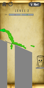 screenshot of Cheery Glass Drawing Line version 1.0