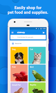 screenshot of Chewy - Where Pet Lovers Shop version 2.11.1