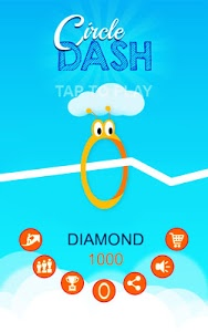 screenshot of Circle Dash version 1.20