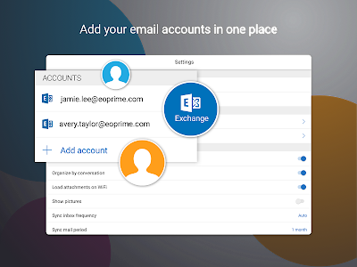 screenshot of Citrix Secure Mail version Varies with device