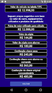 screenshot of Clube do Chaveiro version 1.0.1